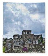 Talum Ruins 8 Fleece Blanket
