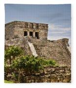 Talum Ruins10 Fleece Blanket