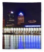 Tampa Bay Panorama Fleece Blanket