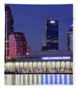 Tampa Convention Center Fleece Blanket