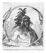 Tanacharison (c1700-1754) Fleece Blanket