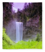 Tananamawas Falls  Fleece Blanket