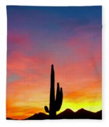 Tangible Journey Fleece Blanket