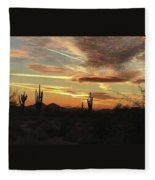 Tangible Light Fleece Blanket