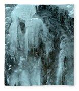 Tangle Falls Frozen Cascade Fleece Blanket