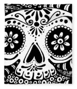 Tangled Skull Fleece Blanket