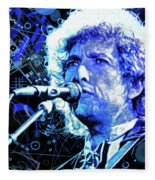 Tangled Up In Blue, Bob Dylan Fleece Blanket