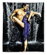 Tango Cascade Fleece Blanket