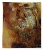 Tango Dance 998al  Fleece Blanket