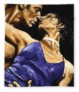 Tango Heat Fleece Blanket