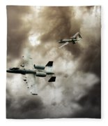 Tank Busters Fleece Blanket