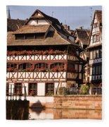 Tanners House Strasbourg Fleece Blanket