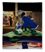 Tanoura Dancer Fleece Blanket