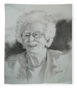 Tante Irene Fleece Blanket
