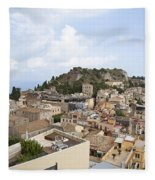 Taormina View II Fleece Blanket