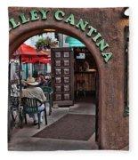 Taos Alley Cantina Fleece Blanket