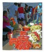 Tapachula 8 Fleece Blanket