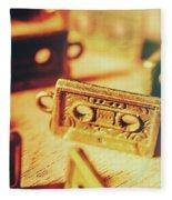 Tapes From The Golden Oldies Fleece Blanket