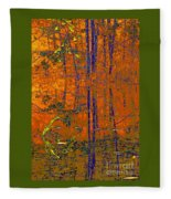 Tapestry Fleece Blanket