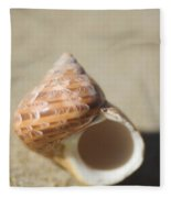 Tapestry Turban Seashell Fleece Blanket