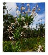 Tarflower Blooming Fleece Blanket