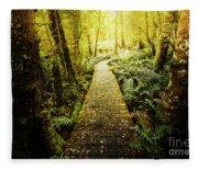 Tarkine Tasmania Trails Fleece Blanket