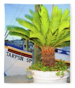 Tarpon                 Tarpon Palm                                     Fleece Blanket