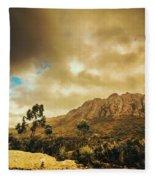 Tasmania Mountain Marvels Fleece Blanket