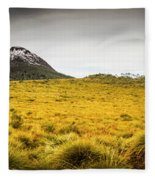 Tasmania Mountains Of The East-west Great Divide  Fleece Blanket