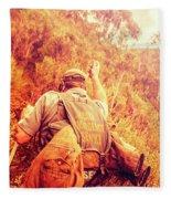 Tasmania Search And Rescue Ses Volunteer  Fleece Blanket