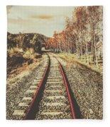 Tasmanian Country Tracks Fleece Blanket