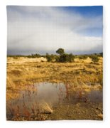 Tasmanian Storm  Fleece Blanket