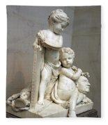 Tassaert's Painting And Sculpture Fleece Blanket
