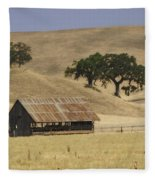 Tassajara Road Fleece Blanket