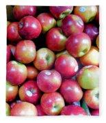 Tasty Fresh Apples 1 Fleece Blanket