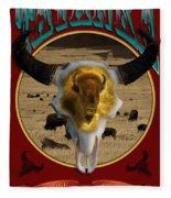 Tatanka American Bison Fleece Blanket