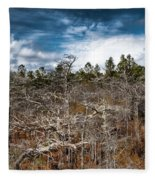 Tate's Hell State Forest Fleece Blanket