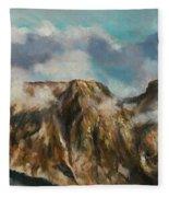 Tatry Mountains- Giewont Fleece Blanket
