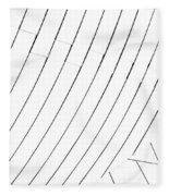 Taubman Museum Abstract #4 Fleece Blanket