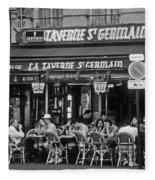 Taverne St. Germain, Paris Fleece Blanket
