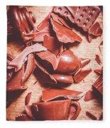 Tea Break  Fleece Blanket