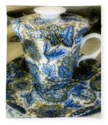 Tea Is Served Fleece Blanket