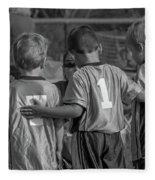 Team Support Fleece Blanket