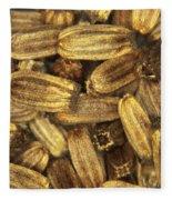 Teasel Seeds Fleece Blanket