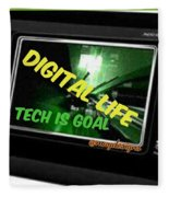 Tech Is Goal Fleece Blanket