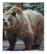 Teddy Bear Alive Fleece Blanket