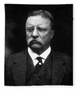 Teddy Roosevelt Fleece Blanket