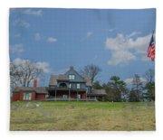 Teddy Roosevelts House - Sagamore Hill Fleece Blanket