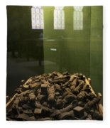 Tefillin Of Czech Jews From The Holocaust Fleece Blanket