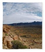 Teide Nr 14 Fleece Blanket
